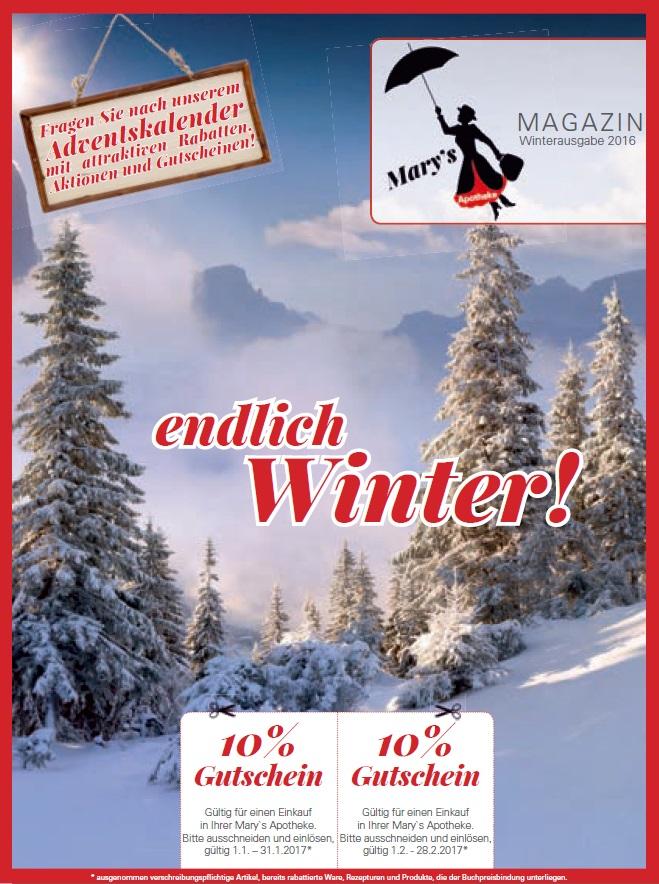 Unser Winter-Magazin ist da!